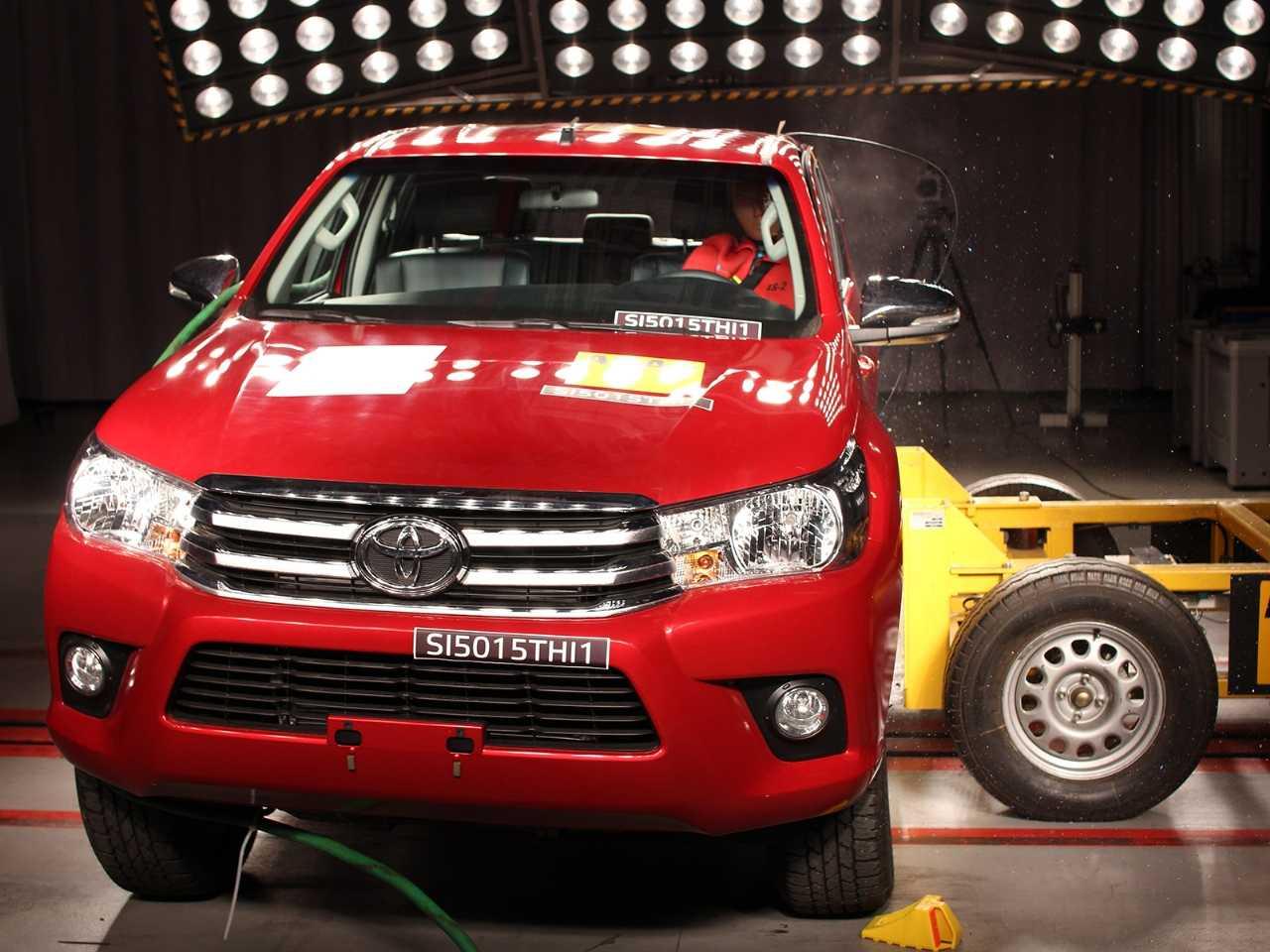 Gama Toyota Hilux e SW4: boa avaliação nos testes de segurança do Latin NCAP