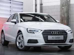 Audi A3 Sedan ganha série especial para comemorar os 25 anos da marca no Brasil