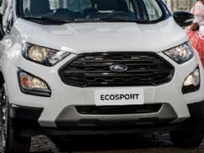 Desenvolvida na China, nova geração do Ford EcoSport é cotada para 2021