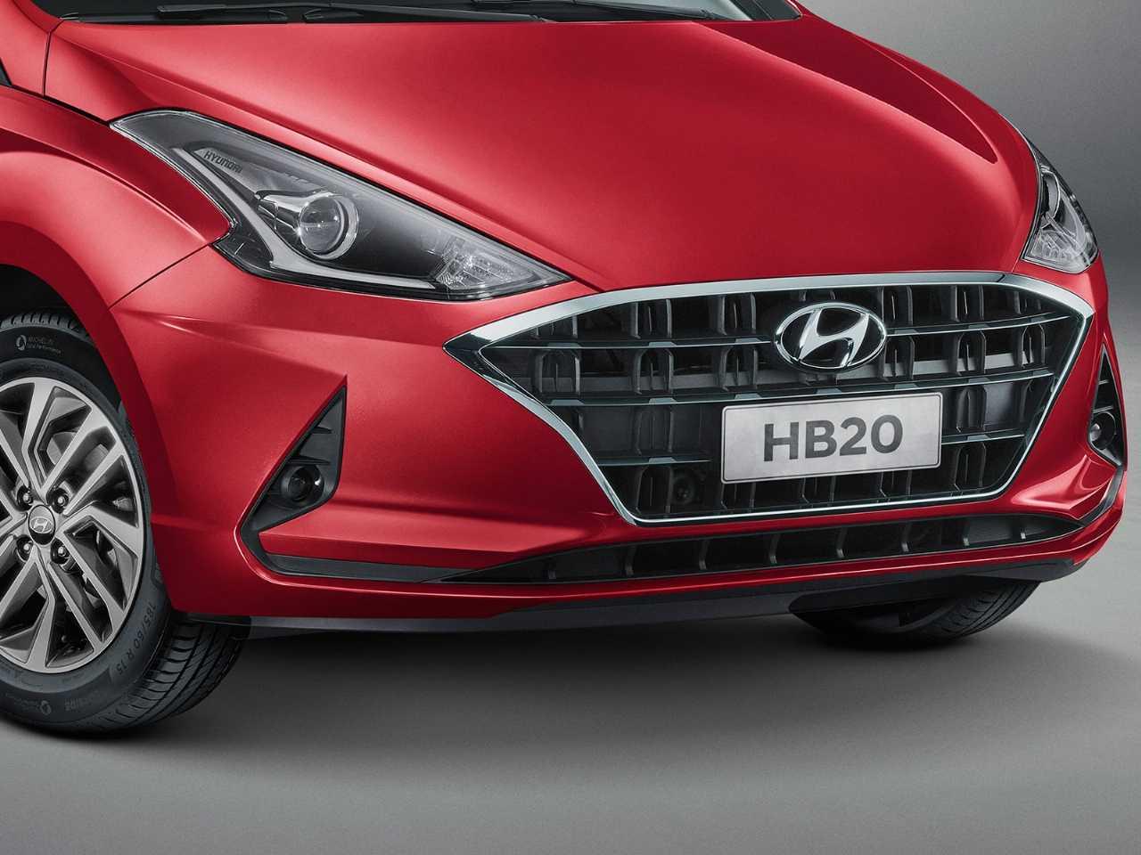 HyundaiHB20 2020 - grade frontal