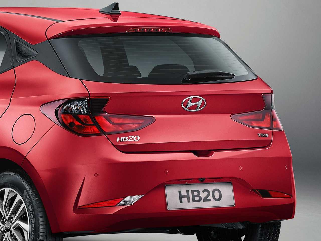 HyundaiHB20 2020 - lanternas