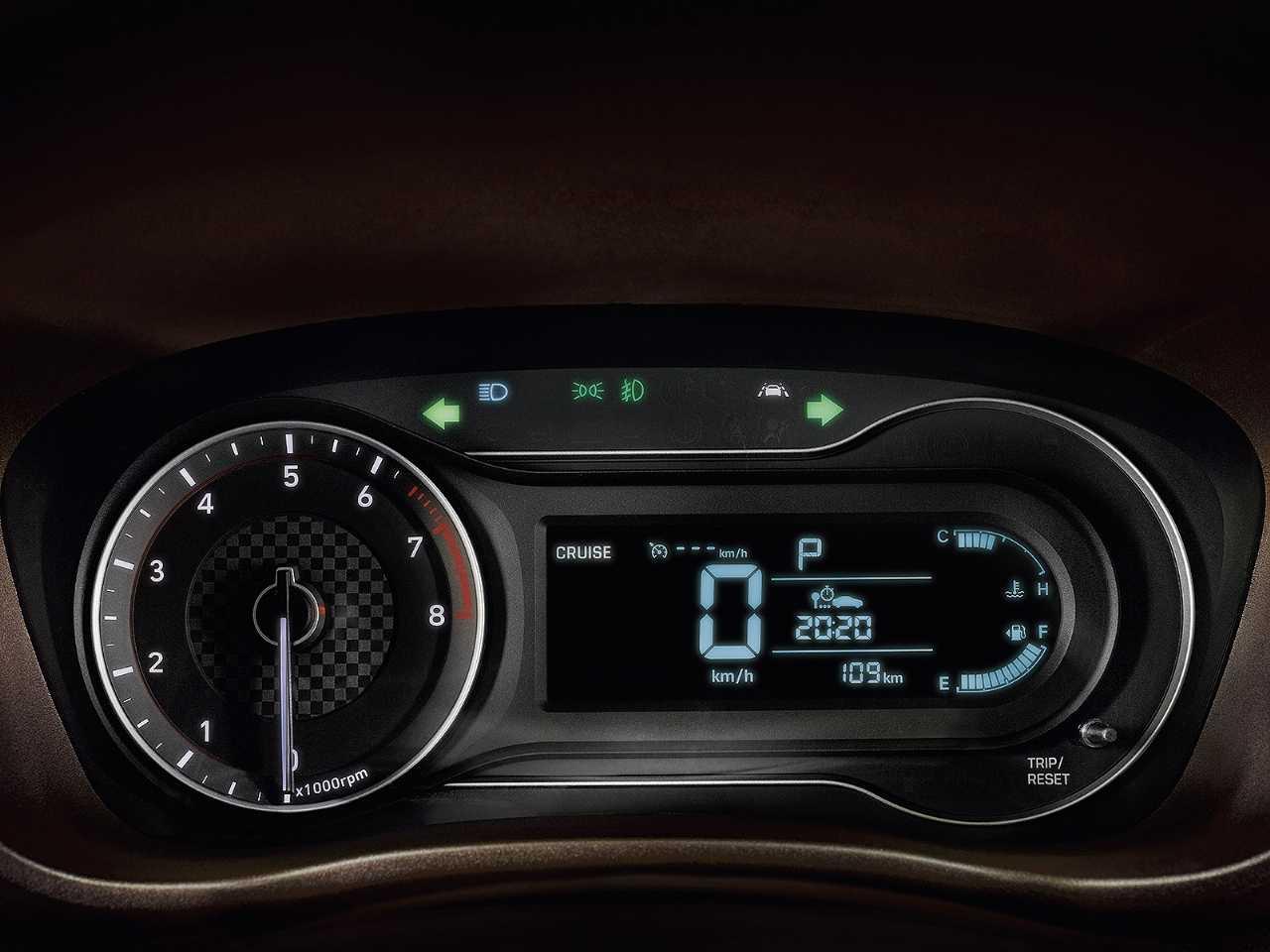 HyundaiHB20 2020 - painel de instrumentos
