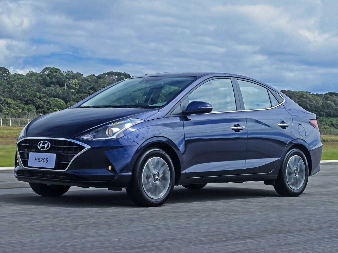 HyundaiHB20S 2020 - ângulo frontal
