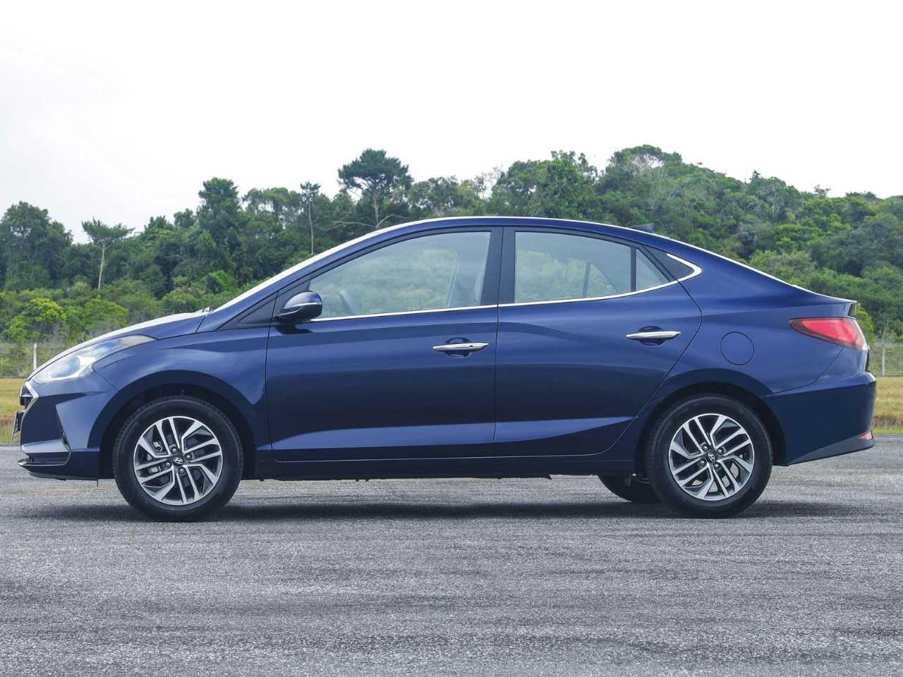 HyundaiHB20S 2020 - lateral