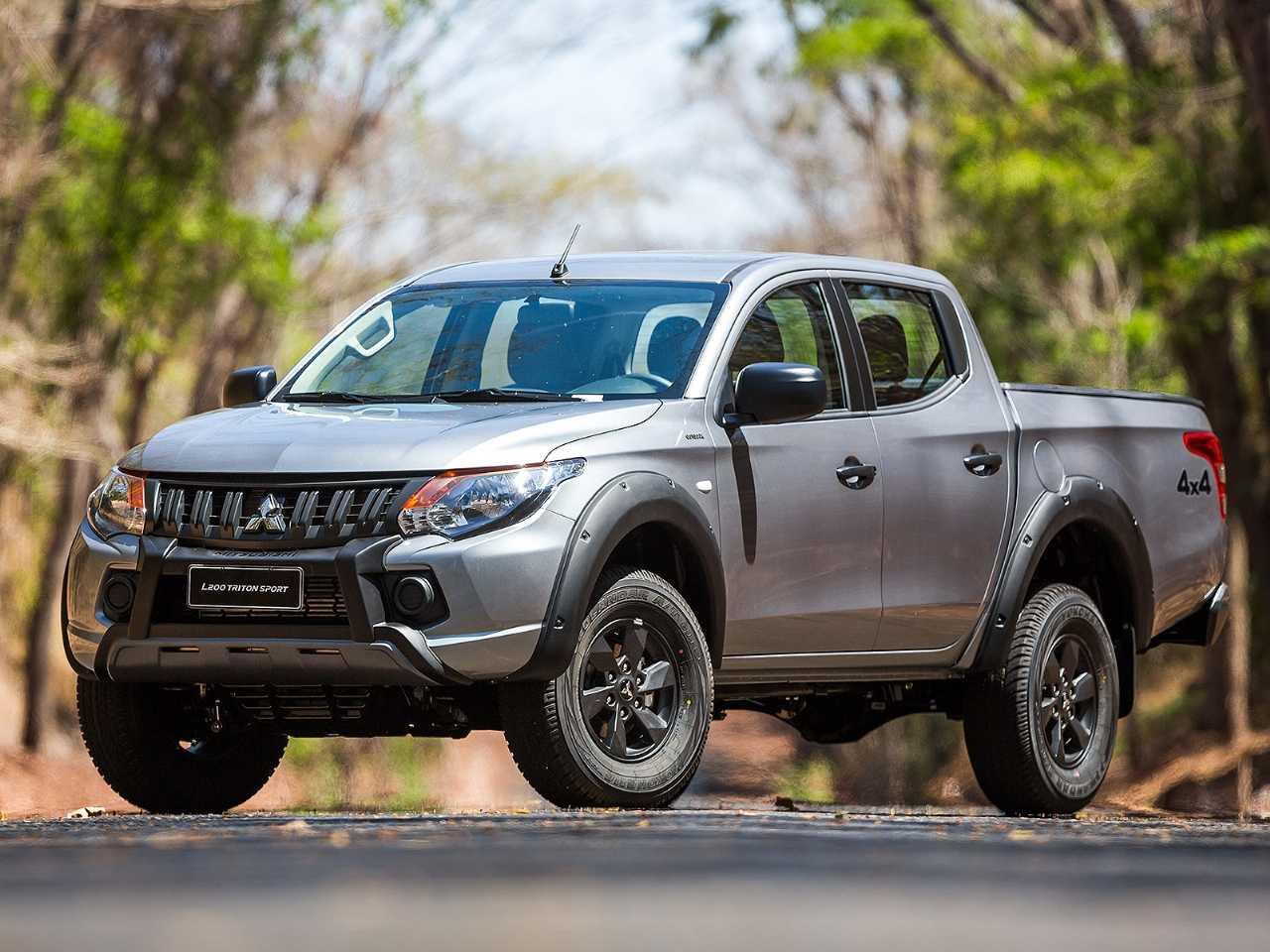MitsubishiL200 Triton 2020 - ângulo frontal