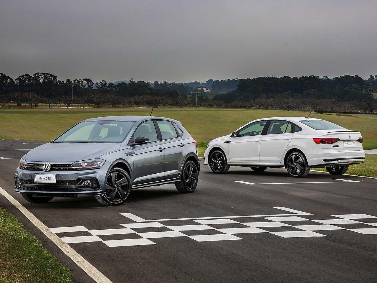Primeira foto oficial dos novos Polo e Virtus GTS