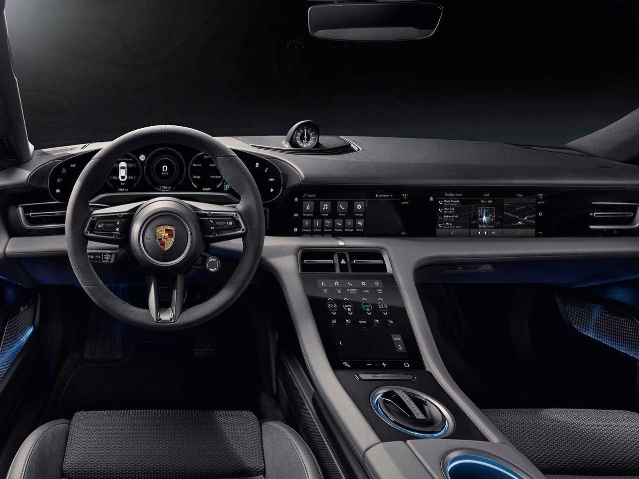 PorscheTaycan 2020 - painel