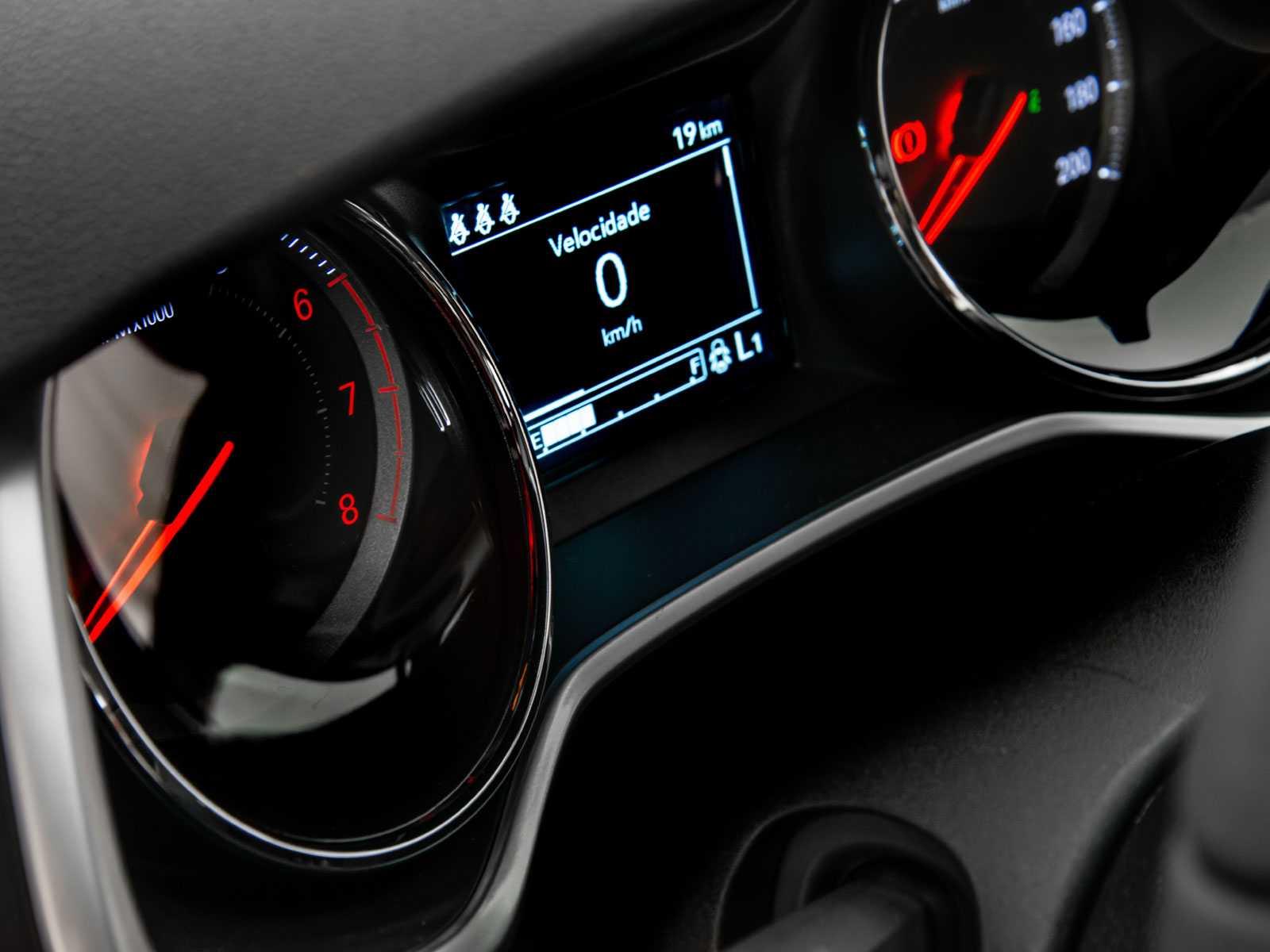 ChevroletOnix 2020 - painel de instrumentos