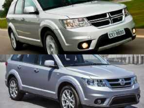 Ambos 2015: um Dodge Journey ou um Fiat Freemont?