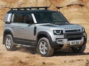 Nova geração do Land Rover Defender chega ao Brasil em 2020