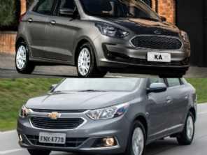 Um Ford Ka SE Plus manual 2020 ou um Cobalt LTZ 2018?