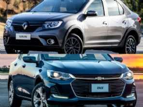 Dúvida entre sedans: um Renault Logan ou o novo Onix Plus?
