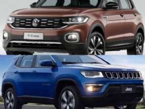 T-Cross Highline completo ou um Compass Longitude diesel?
