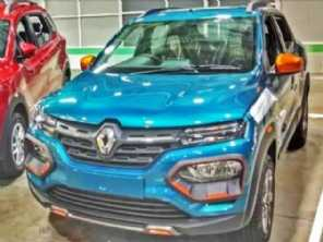 Renault Kwid surge com novo visual na Índia