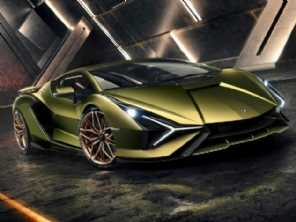 Lamborghini revela o Sián, o carro mais potente da sua história