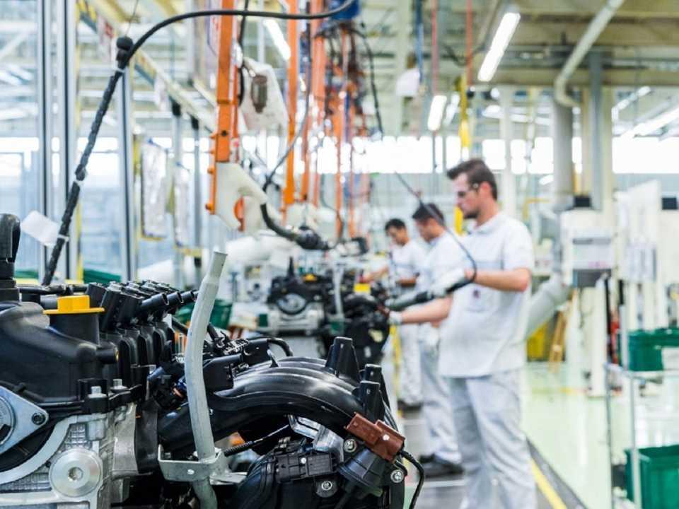 Fábrica de motores da FCA em Campo Largo