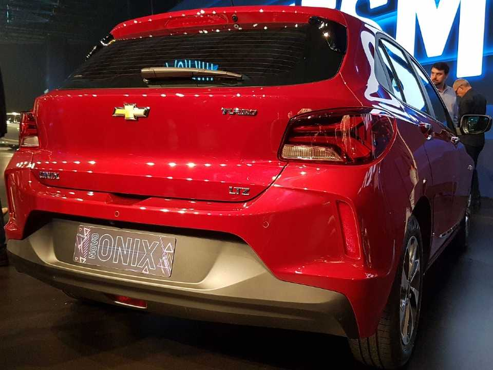 ChevroletOnix 2020 - ângulo traseiro