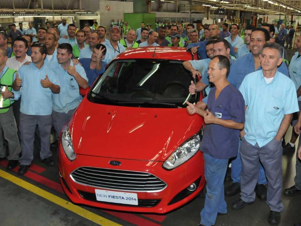 Fábrica da Ford em São Bernardo em 2013: em breve nas mãos da CAOA