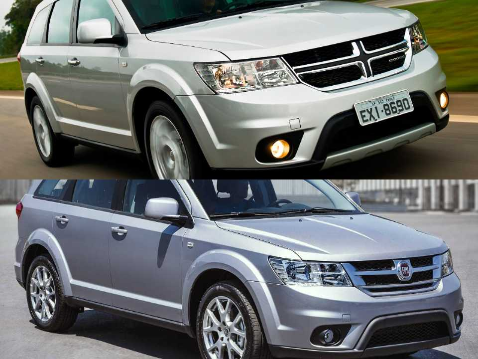 Dodge Journey e Fiat Freemont