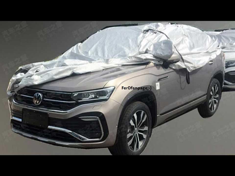 Imagem vazada que antecipa as formas definitivas do VW Tylcon chinês