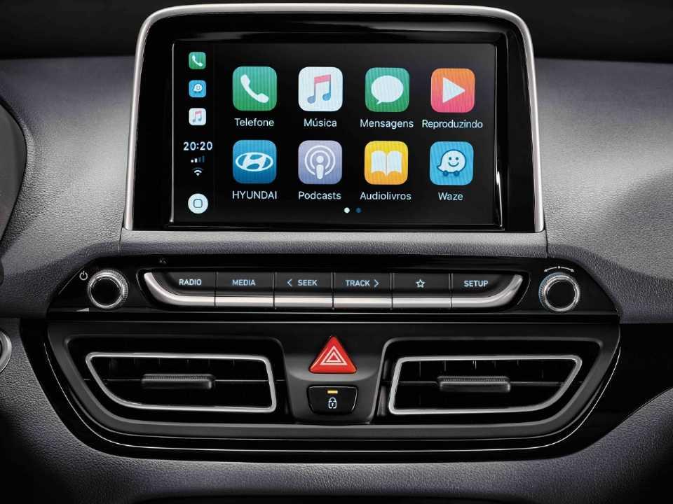 HyundaiHB20S 2020 - console central