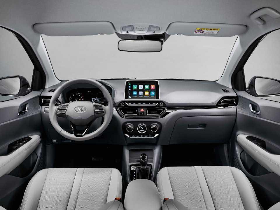 HyundaiHB20S 2020 - painel