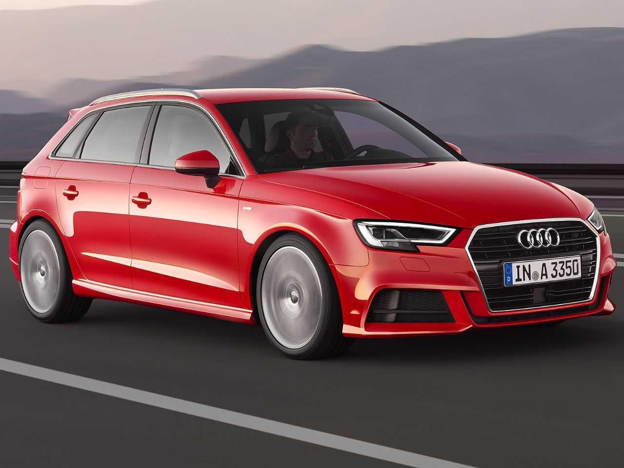 Acima o Audi A3 atualmente comercializado