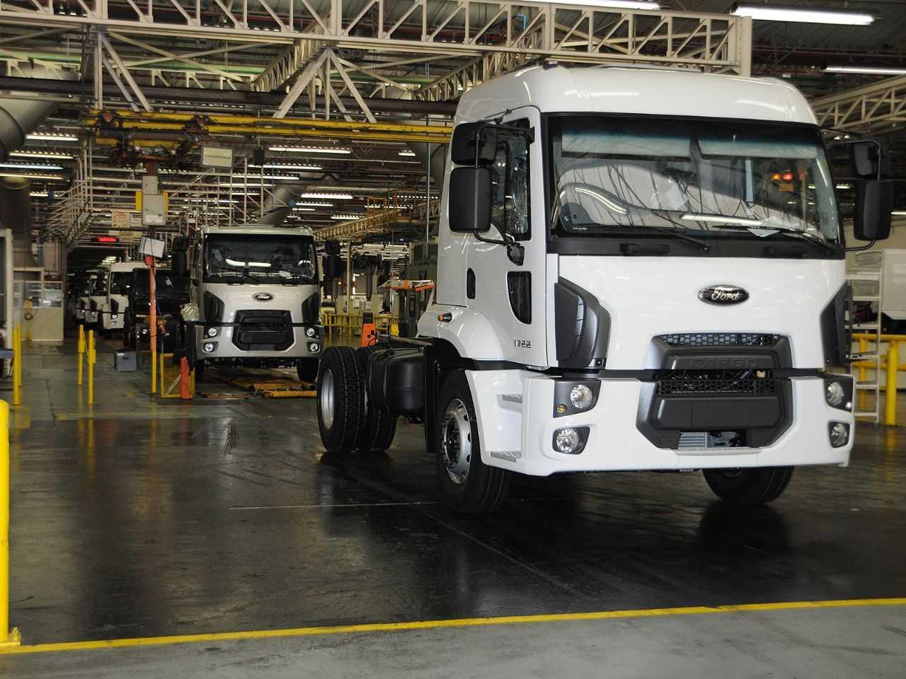 Ford Taboão era responsável em grande parte pela montagem de caminhões da marca