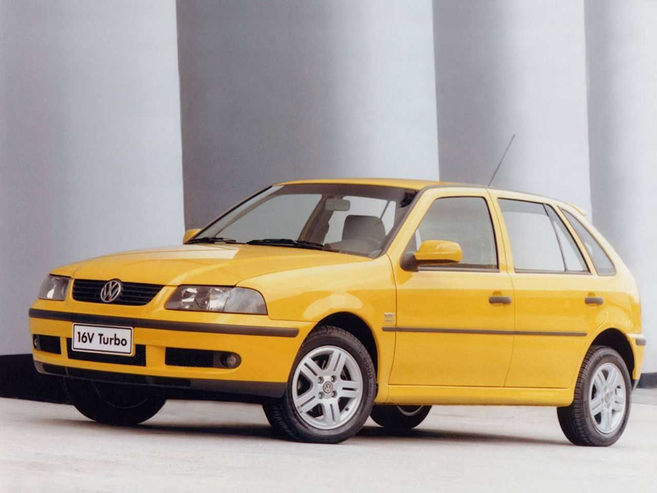 VolkswagenGol 2000 - ângulo frontal