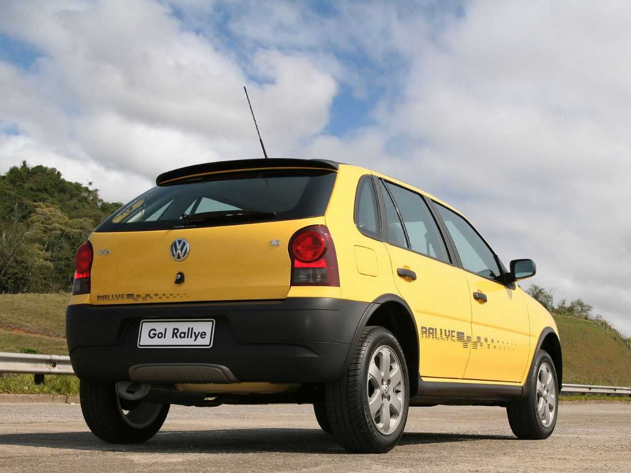 VolkswagenGol 2005 - ângulo frontal