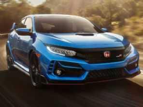 Honda atualiza Civic Type R com ronco falso de motor