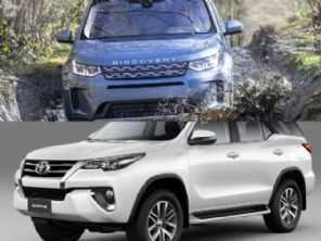 Optar por um Discovery Sport a diesel ou um Toyota SW4 SRX?