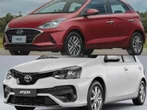 Em busca de um hatch automático: Hyundai HB20 1.6 ou Toyota Etios?
