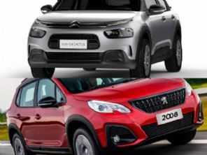 Dúvida entre primos na compra PcD: Citroën C4 Cactus ou Peugeot 2008?