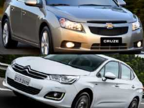 Sedans usados: Cruze LT 1.8 2016 ou um Citroën C4 Lounge 1.6 THP?