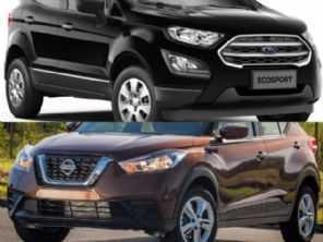 SUV para PcD com bom custo-benefício: Ford EcoSport ou Nissan Kicks?