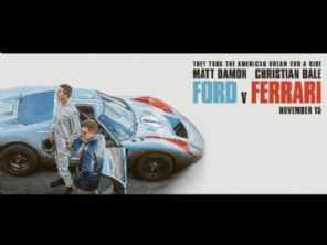 Ford vs Ferrari recebe quatro indicações ao Oscar