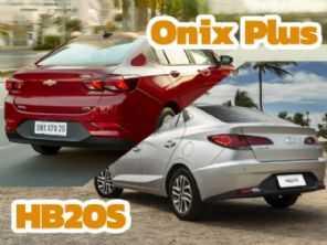 Hyundai HB20S ou Chevrolet Onix Plus? Qual escolher entre as novas gerações dos sedans