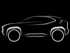 Toyota revela primeiro teaser do SUV do Yaris europeu