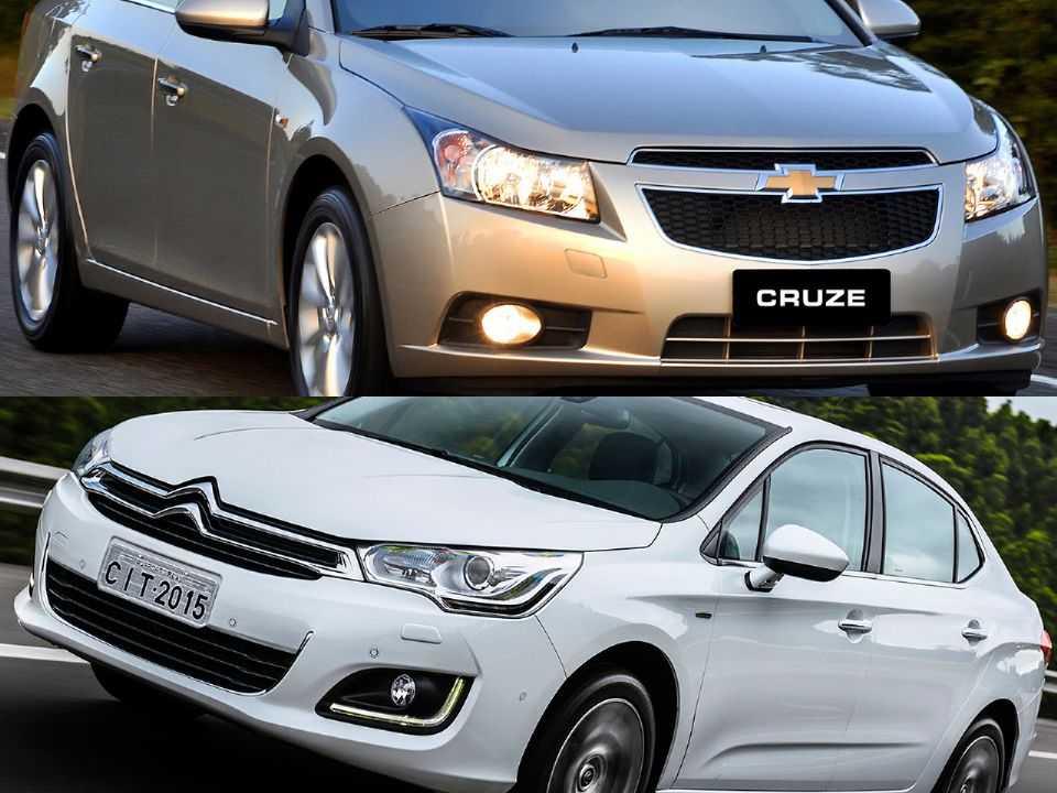 Chevrolet Cruze e Citroën C4 Lounge