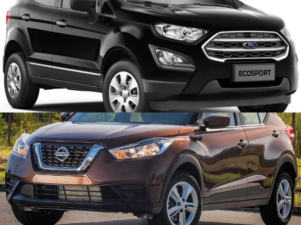Ford EcoSport e Nissan Kicks