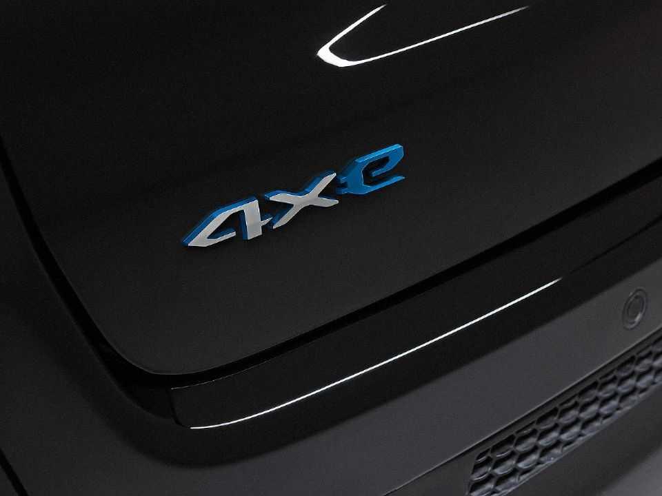 Logotipo da nova configuração híbrida plug-in da linha Jeep