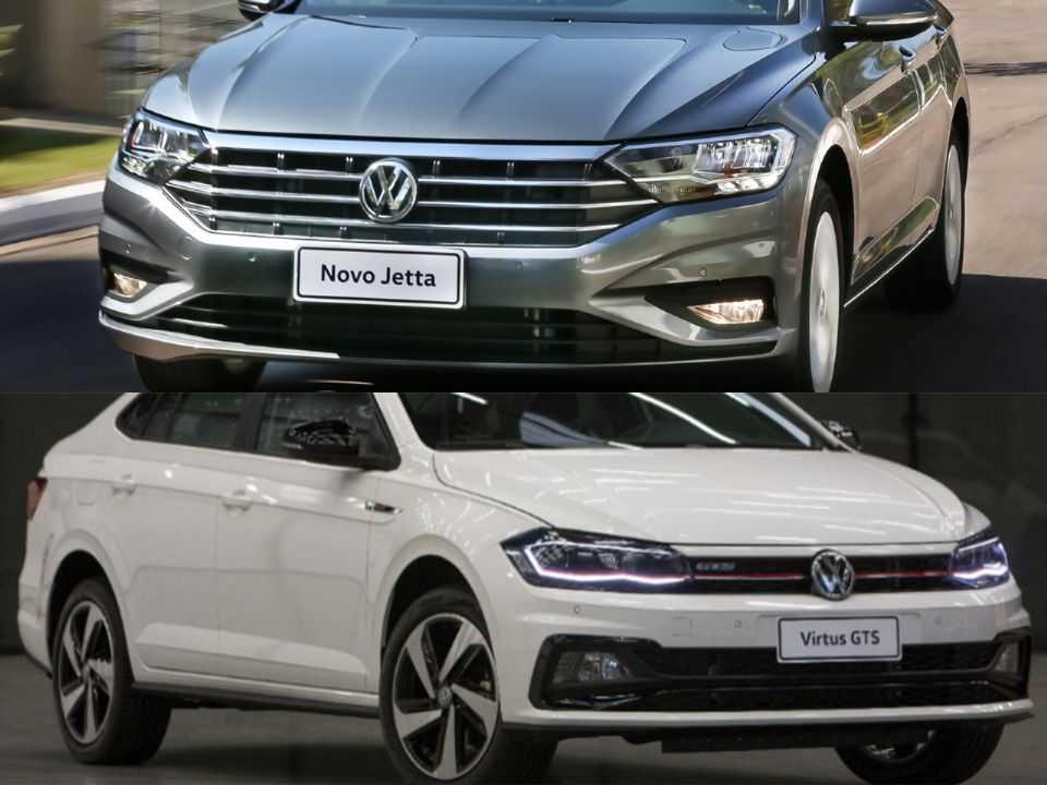 VW Jetta e VW Virtus