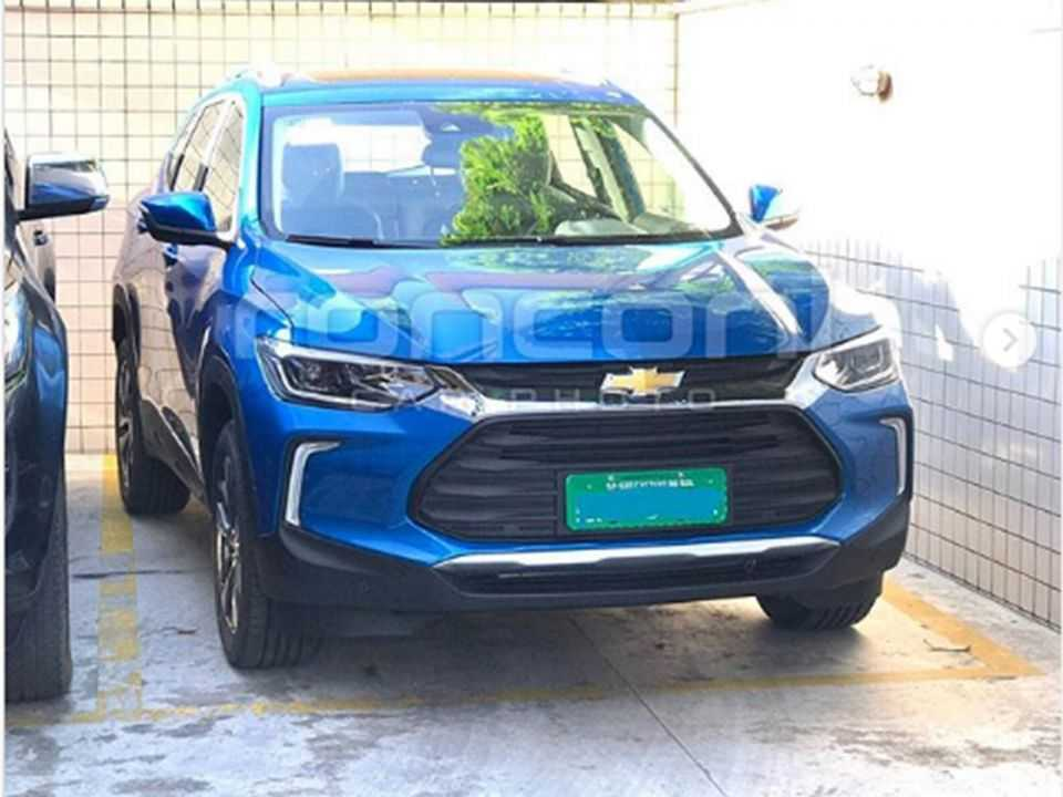Flagra do novo Chevrolet Tracker 2021