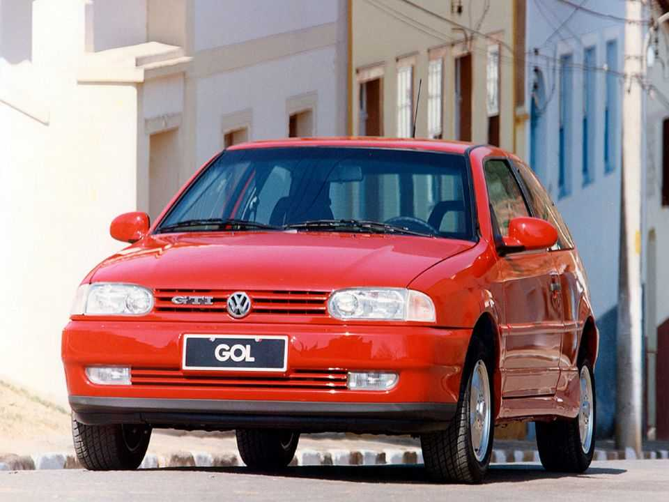 VolkswagenGol 1997 - ângulo frontal
