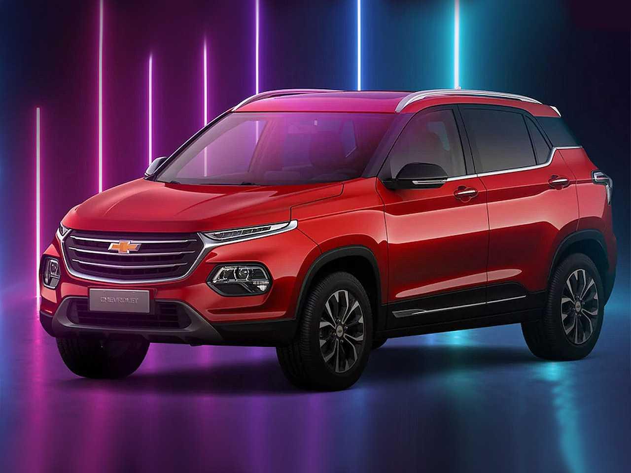 Acima o Chevrolet Groove lançado no Chile