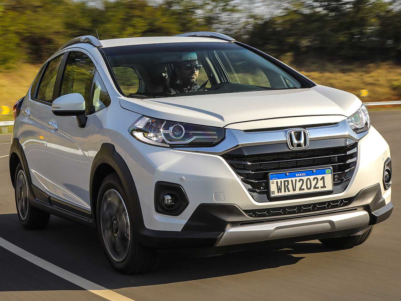 HondaWR-V 2021 - ângulo frontal