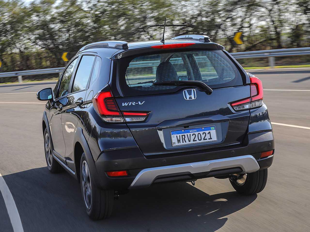 HondaWR-V 2021 - ângulo traseiro