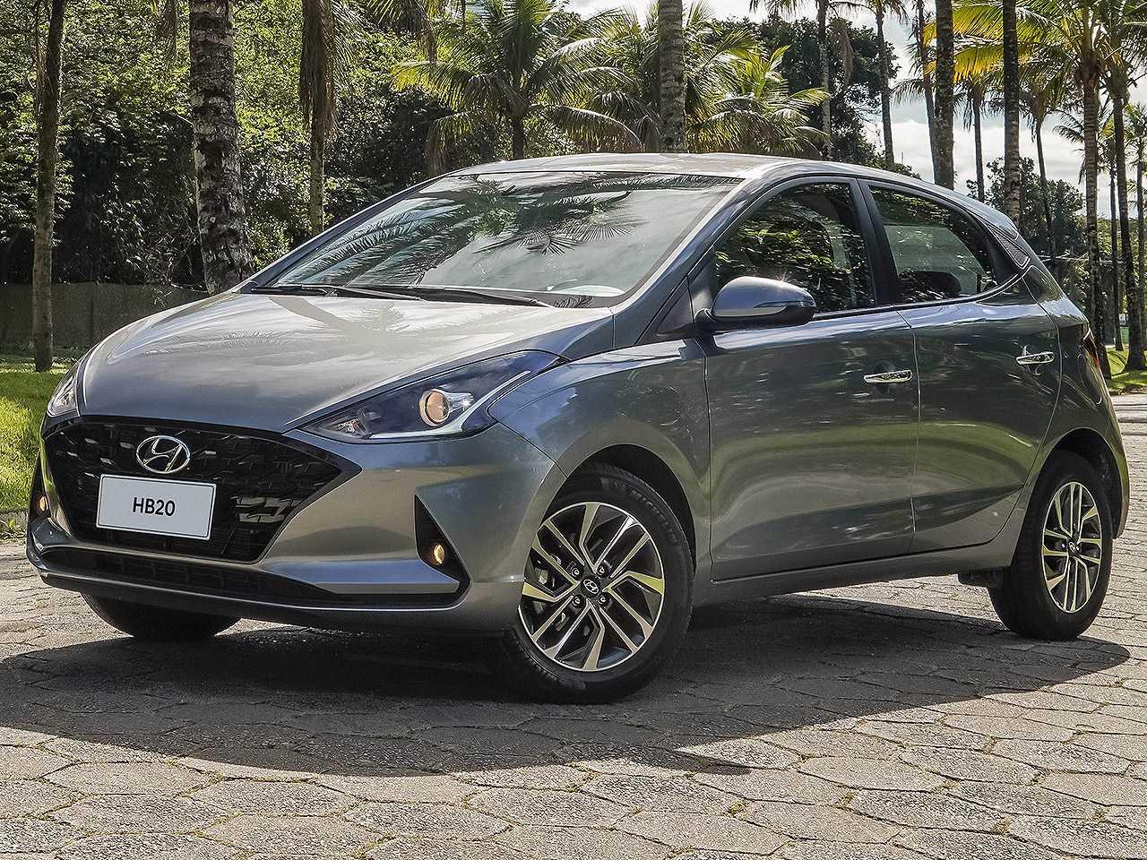 HyundaiHB20 2021 - ângulo frontal