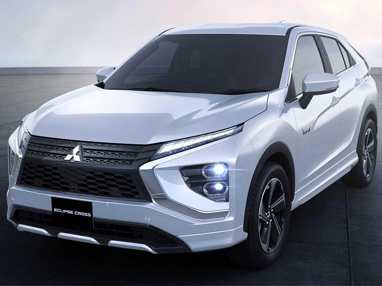 Detalhe do Mitsubishi Eclipse Cross com novo visual